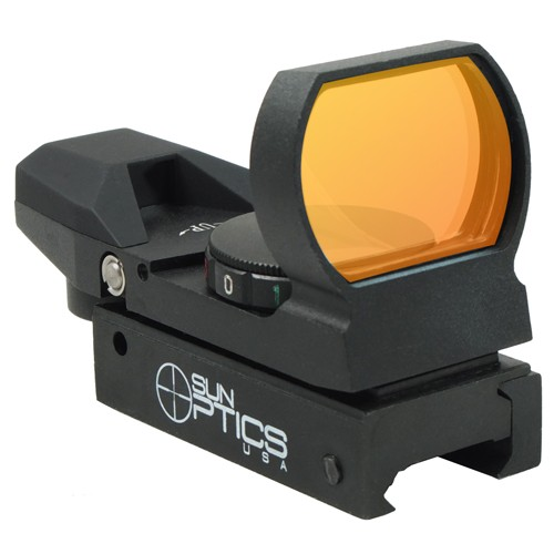 Open Reflex Red & Green Dot Sights