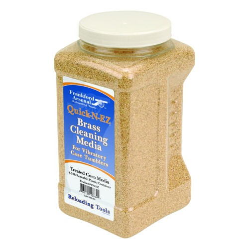 Frankford Arsenal Treated Corn Cob Media 4.5 Lbs. In Reuseable Plastic Container