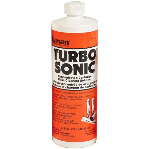 Lyman Turbo Sonic Case Cleaning Solution 946ml