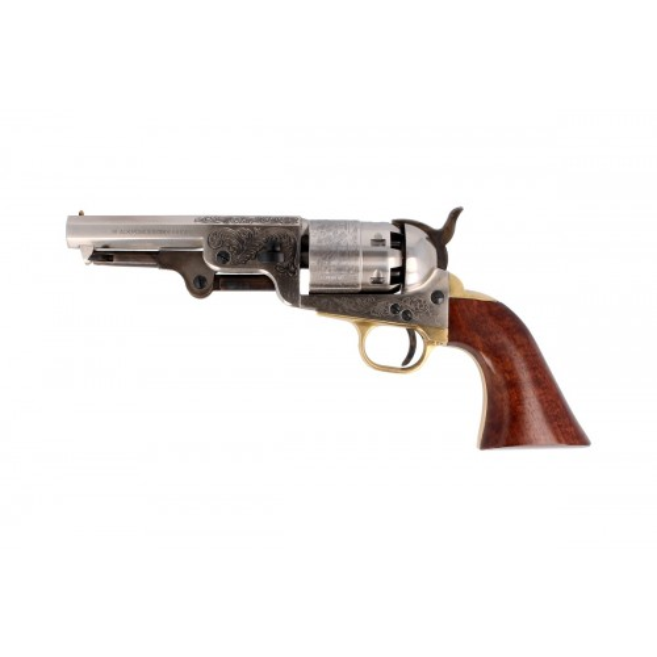 Pietta Black Powder Revolver 1851 Navy Yank Steel Old Model Cal.44