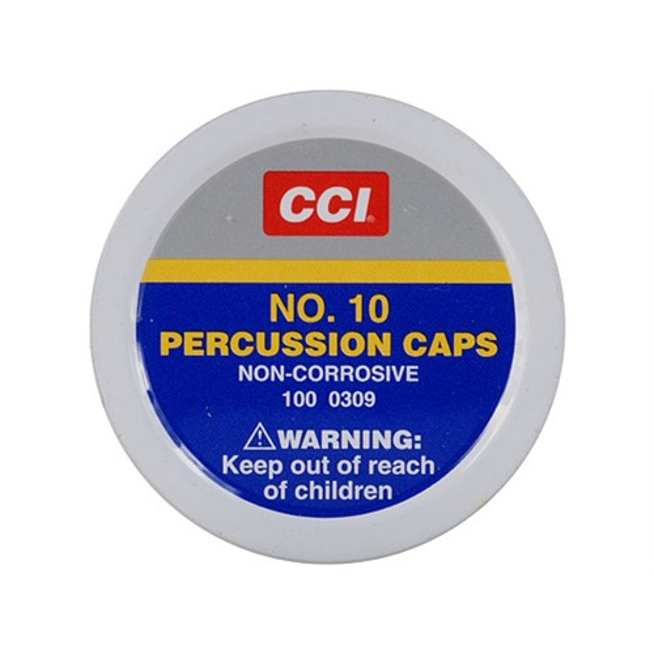 CCI No10 Percussion Caps x100