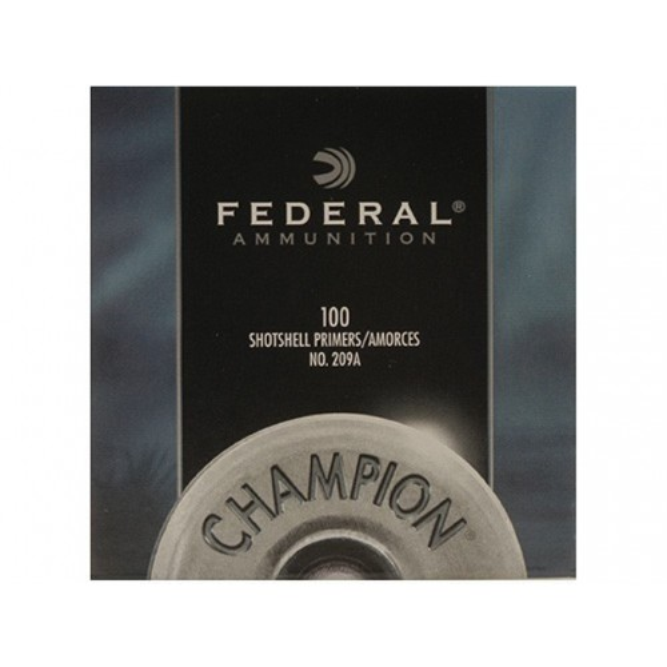 Federal Primers #209A Shotshell X100