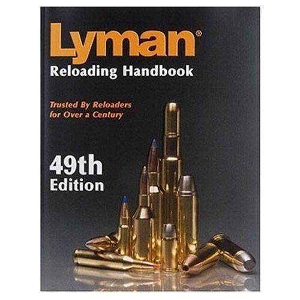 Lyman 49th Edition Reloading Handbook Hardcover