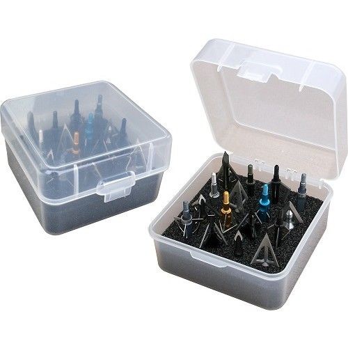 MTM Broadhead Box 16 Heads Clear