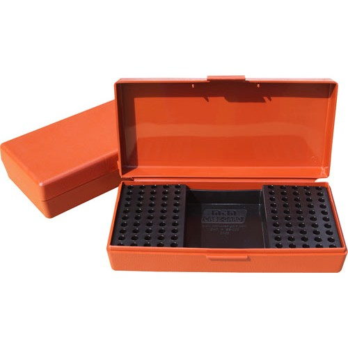 MTM Ammo Box 250 Round 22 Long Rifle Rimfire Competition Rust