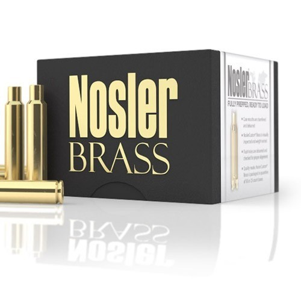 Nosler Custom Brass 340 Weatherby x25