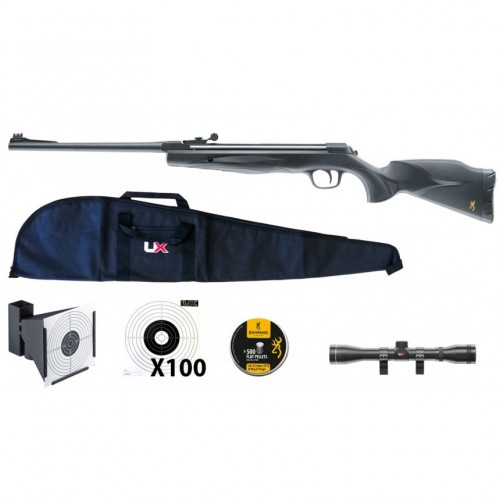 Umarex Browning X-Blade II Pack 4.5mm 19.9J Spring Operated 4x32