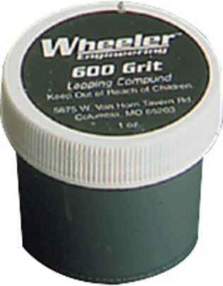 Wheeler Engineering Replacement 600 Grit Lapping Compound 1 Oz Jar