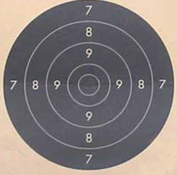 21x21 Targets (centre of C50) x100