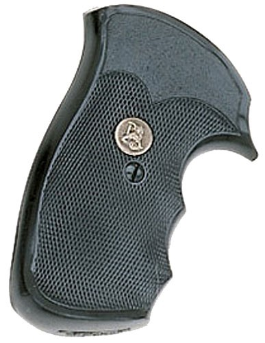 """Pachmayr Gripper Decelerator Grips with Finger Grooves S & W, """"K"""" & """"L"""" Frame Sq"""