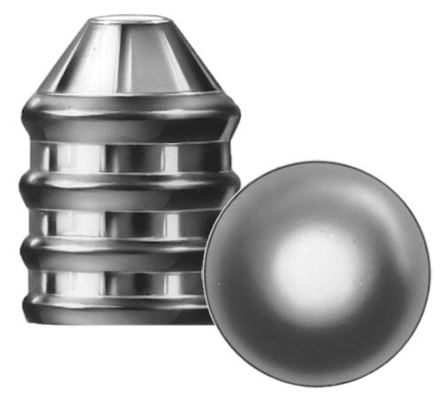 Lee 2-Cavity Real Mold Combo 50-320 & .490 Round Ball