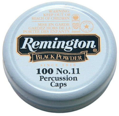 Remington No11 Percussion Caps x100