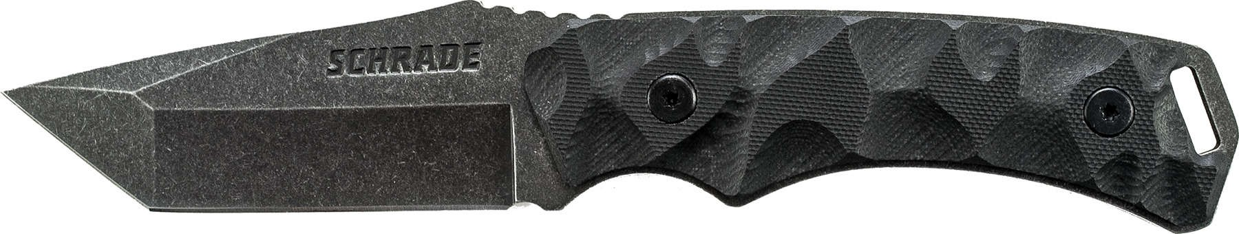 Schrade SCHF15 Full Tang Tanto Fixed Blade G-10 Handle