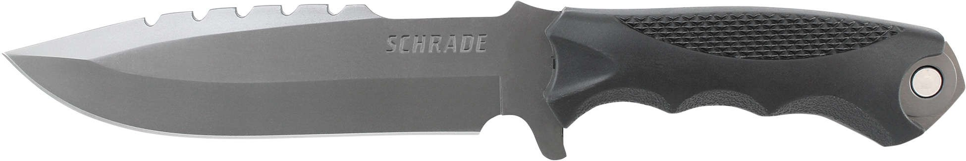 Schrade SCHF27 Extreme Survival Full Tang Drop Point Fixed Blade Knife & Tool TPE Handle