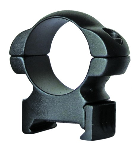 "Sun Optics USA Solid Steel Rings Hex 1"" Medium Black Matte"