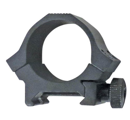 "Sun Optics USA Sport Rings 1"" Low For Picatinny & Weaver Base Black Matte"