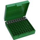 MTM P100-9 Ammo Box 9mm, 380 Green