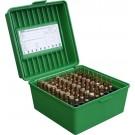 MTM R-100 Rifle Ammo Box Green