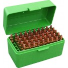 MTM RS-50 Rifle Ammo Box Green