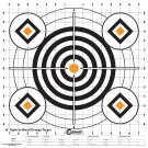 "Caldwell Sight In Target 16"" Black And Orange X10"
