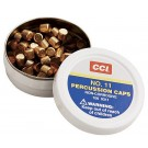 CCI No11 Percussion Caps x100