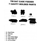Lee Parts Uni Case Feed 7 Cav Molded Parts