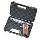 "MTM Pistol Handgun Case Single Up To 3"" Revolver Black"