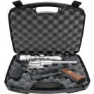 "MTM 2 Pistol Handgun Case Up To 8.5"" Revolver Black"
