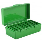 MTM P50-32 Ammo Box 25ACP, 32ACP, 32S&W Long Green