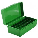 MTM P50-44 Ammo Box 44 Magnum, 45 Long Colt Green