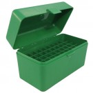 MTM RL-50 Rifle Ammo Box Green