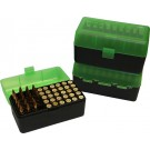 MTM RM-50 Rifle Ammo Box Green/Black