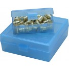 "MTM Utility Case Small 4.2x2.4x1.5"" Clear Blue"