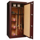 Infac PK75 Presidential 23 Scoped Rifles Safe With 2 Wooden Shelves Red