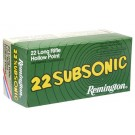 Remington Subsonic 22LR x50