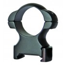 Sun Optics USA Solid Steel Rings Hex 30mm High Black Matte