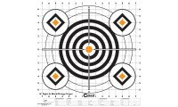 """Caldwell Sight In Target 16"""" Black And Orange X10"""