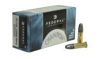 FEDERAL Champion Target Ammunition 22 LR High Velocity 40 Grain #510 Lead Round Nose Box Of 5000