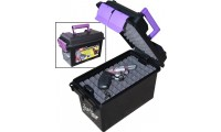 MTM Handgun Conceal Carry Case Black/Purple