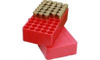 MTM J-50-38-30 Handgun Ammo Boxes Red