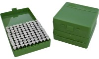 MTM P100-45 Ammo Box 10mm, 40S&W, 45ACP Green