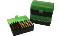 MTM RL-50 Rifle Ammo Box Green/Black