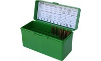 MTM Ammo Box 60 Round Flip-Top 270 Win 30-06 25-06 Green