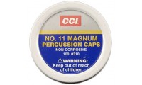 CCI No11 Magnum Percussion Caps x100