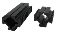 Tacstar Shotgun Picatinny Rail Mounts 46mm