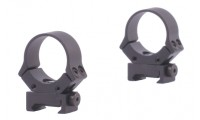 Sun Optics USA Adjustable 30mm Airgun Ring Fit Standard Dovetail Black