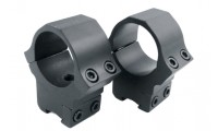 Sun Optics USA Air Sport Rings 30mm Airgun Low Black Satin