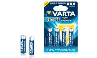 Varta High Energy AAA Batteries pack of 4