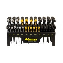 Wheeler Engineering 30 Piece SAE/Metric Hex and Torx P-Handle Set