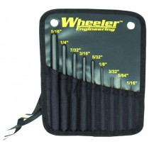 Wheeler Engineering 9 Roll Pin Punch Set